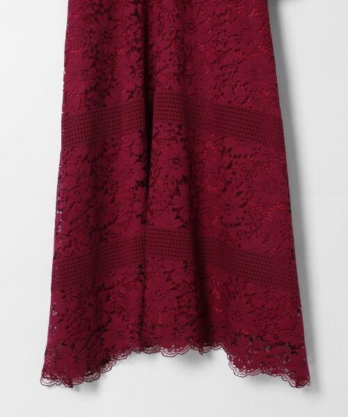 GRACE CONTINENTAL / グレースコンチネンタル ドレス | ハイネックレースワンピース | 詳細3