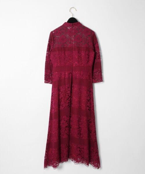 GRACE CONTINENTAL / グレースコンチネンタル ドレス | ハイネックレースワンピース | 詳細4