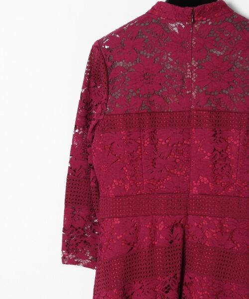 GRACE CONTINENTAL / グレースコンチネンタル ドレス | ハイネックレースワンピース | 詳細6