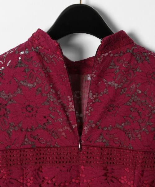 GRACE CONTINENTAL / グレースコンチネンタル ドレス | ハイネックレースワンピース | 詳細7
