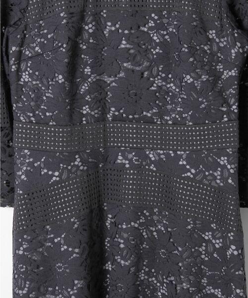 GRACE CONTINENTAL / グレースコンチネンタル ドレス | ハイネックレースワンピース | 詳細9