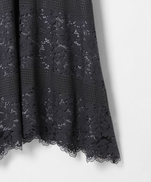 GRACE CONTINENTAL / グレースコンチネンタル ドレス | ハイネックレースワンピース | 詳細10