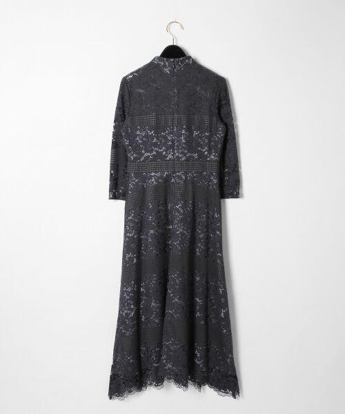 GRACE CONTINENTAL / グレースコンチネンタル ドレス | ハイネックレースワンピース | 詳細11