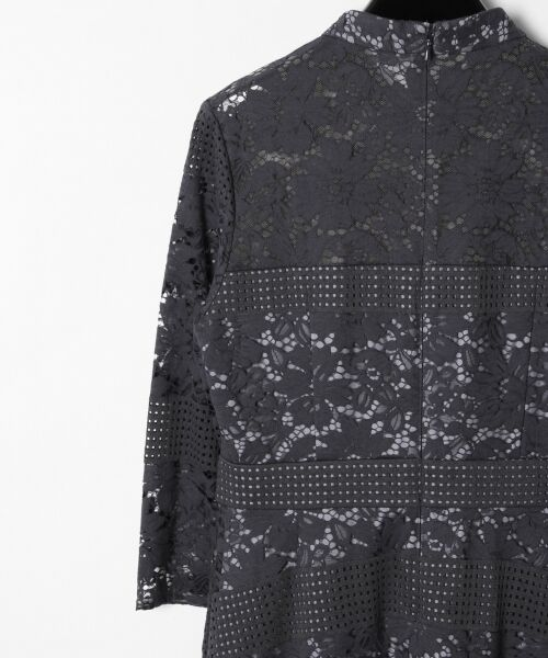 GRACE CONTINENTAL / グレースコンチネンタル ドレス | ハイネックレースワンピース | 詳細12