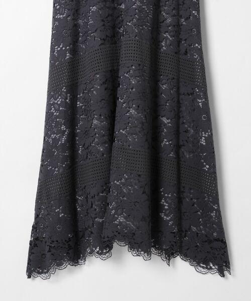 GRACE CONTINENTAL / グレースコンチネンタル ドレス | ハイネックレースワンピース | 詳細13