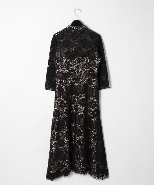 GRACE CONTINENTAL / グレースコンチネンタル ドレス | ハイネックレースワンピース | 詳細23