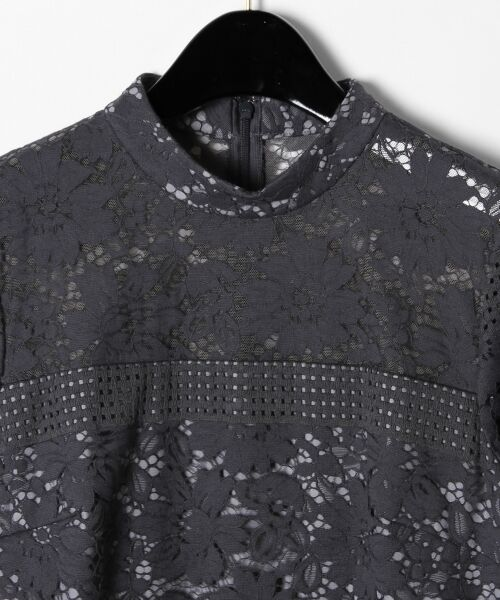 GRACE CONTINENTAL / グレースコンチネンタル ドレス | ハイネックレースワンピース | 詳細25