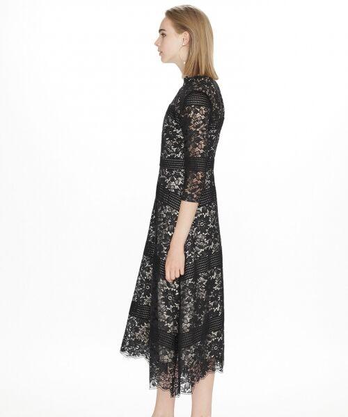 GRACE CONTINENTAL / グレースコンチネンタル ドレス | ハイネックレースワンピース | 詳細16