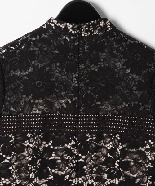 GRACE CONTINENTAL / グレースコンチネンタル ドレス | ハイネックレースワンピース | 詳細22