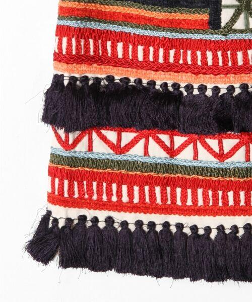 GRACE CONTINENTAL / グレースコンチネンタル ミニ・ひざ丈スカート | タッセル刺繍ミニスカート | 詳細6