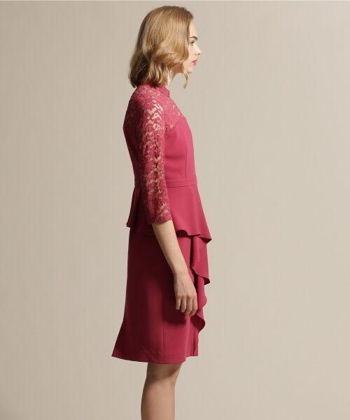 GRACE CONTINENTAL / グレースコンチネンタル ドレス | ペプラムドレープワンピース | 詳細3