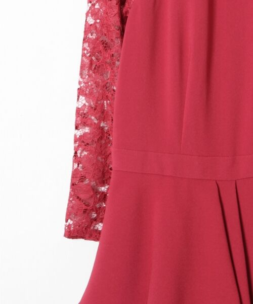 GRACE CONTINENTAL / グレースコンチネンタル ドレス | ペプラムドレープワンピース | 詳細6