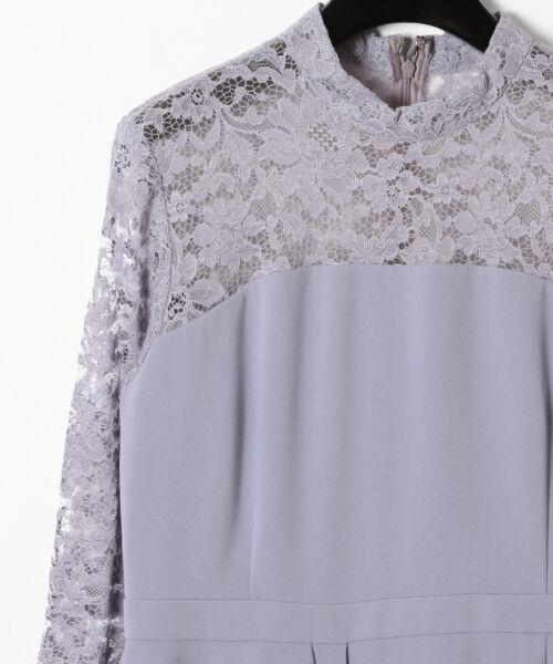 GRACE CONTINENTAL / グレースコンチネンタル ドレス | ペプラムドレープワンピース | 詳細10