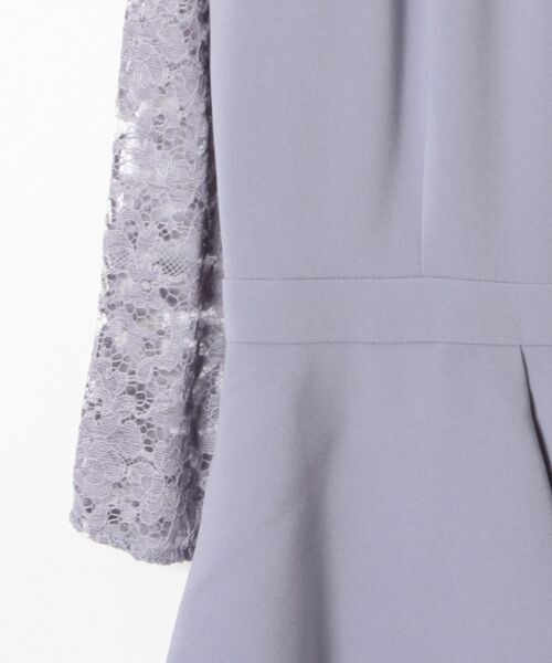 GRACE CONTINENTAL / グレースコンチネンタル ドレス | ペプラムドレープワンピース | 詳細11