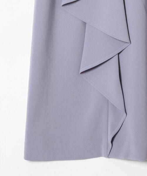 GRACE CONTINENTAL / グレースコンチネンタル ドレス | ペプラムドレープワンピース | 詳細12
