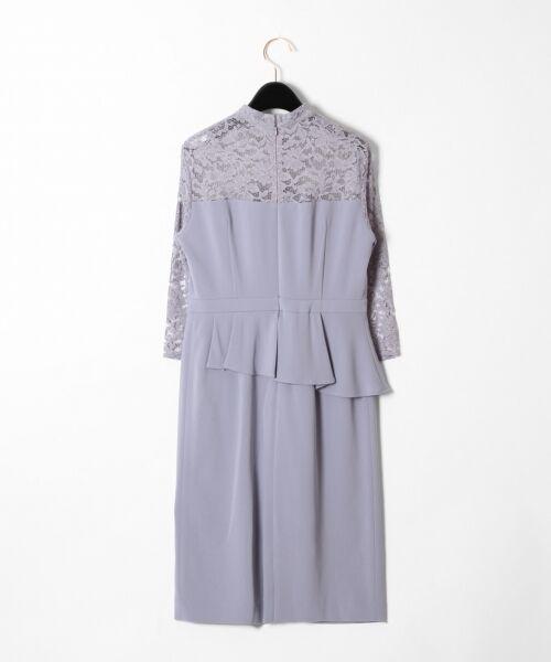 GRACE CONTINENTAL / グレースコンチネンタル ドレス | ペプラムドレープワンピース | 詳細13