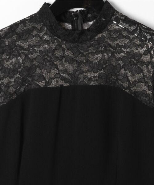 GRACE CONTINENTAL / グレースコンチネンタル ドレス | ペプラムドレープワンピース | 詳細14