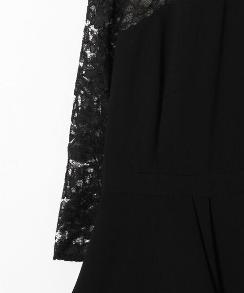GRACE CONTINENTAL / グレースコンチネンタル ドレス | ペプラムドレープワンピース | 詳細15
