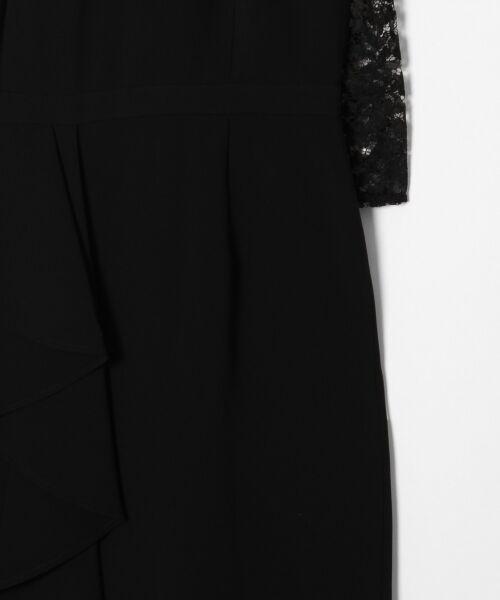 GRACE CONTINENTAL / グレースコンチネンタル ドレス | ペプラムドレープワンピース | 詳細16