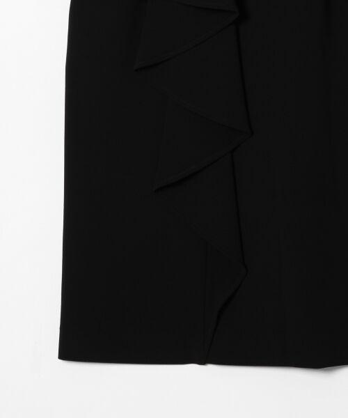 GRACE CONTINENTAL / グレースコンチネンタル ドレス | ペプラムドレープワンピース | 詳細17