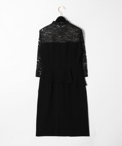 GRACE CONTINENTAL / グレースコンチネンタル ドレス | ペプラムドレープワンピース | 詳細18