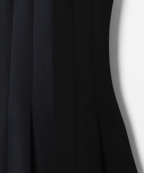 GRACE CONTINENTAL / グレースコンチネンタル ミニ丈・ひざ丈ワンピース   ボンディング切替ドレス   詳細2