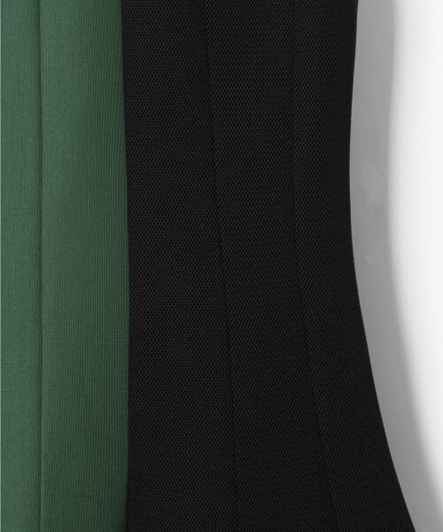 GRACE CONTINENTAL / グレースコンチネンタル ミニ丈・ひざ丈ワンピース   ボンディング切替ドレス   詳細11