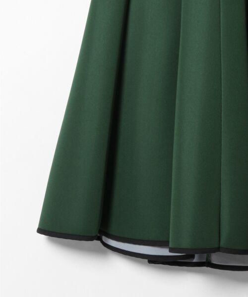 GRACE CONTINENTAL / グレースコンチネンタル ミニ丈・ひざ丈ワンピース   ボンディング切替ドレス   詳細12