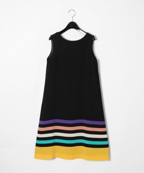GRACE CONTINENTAL / グレースコンチネンタル ドレス | ヘムラインフレアワンピース(ブラック)