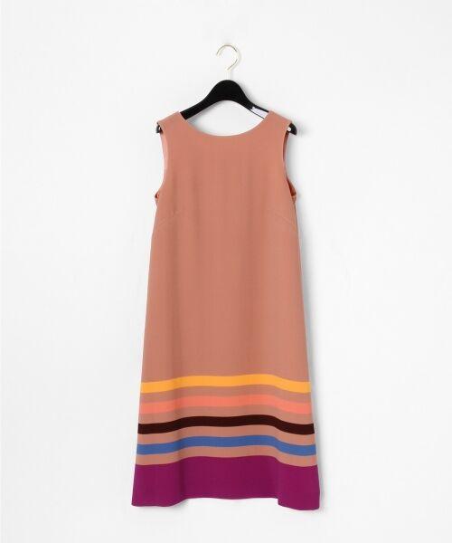 GRACE CONTINENTAL / グレースコンチネンタル ドレス | ヘムラインフレアワンピース(ピンク)