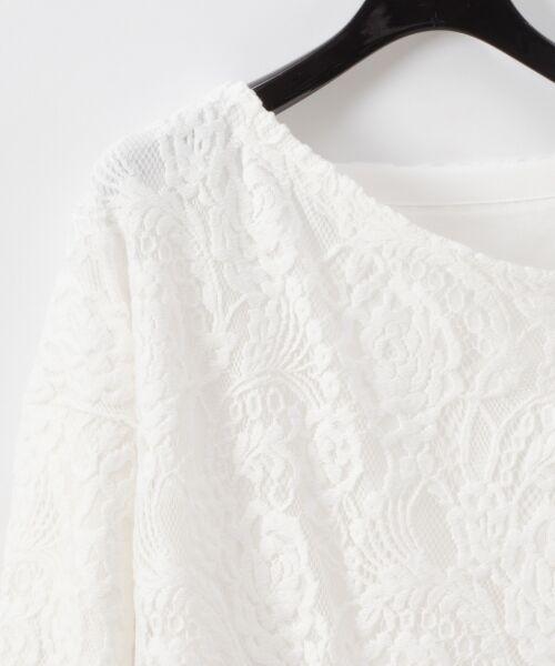 GRACE CONTINENTAL / グレースコンチネンタル Tシャツ   ワンショルレーストップ   詳細1