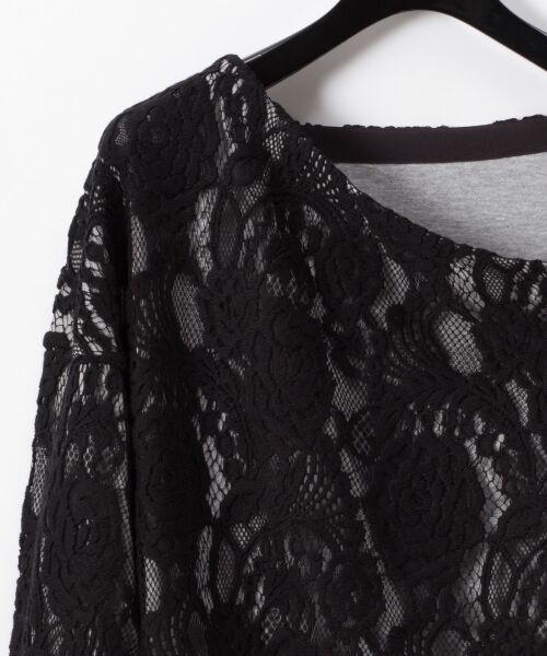 GRACE CONTINENTAL / グレースコンチネンタル Tシャツ   ワンショルレーストップ   詳細6