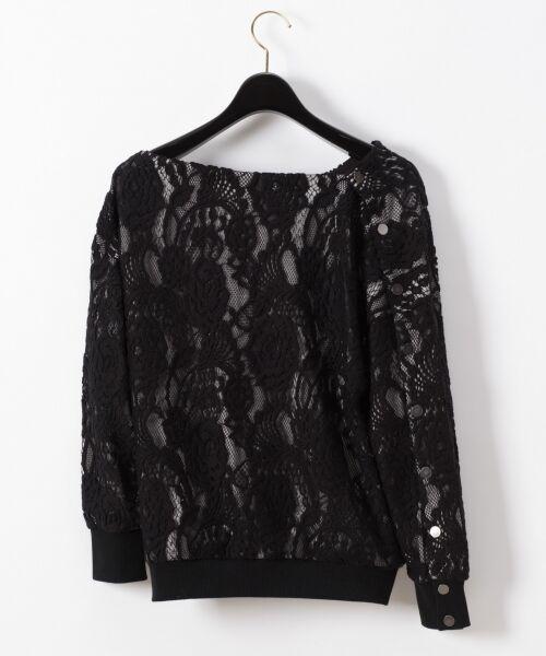GRACE CONTINENTAL / グレースコンチネンタル Tシャツ   ワンショルレーストップ   詳細9