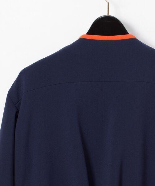 GRACE CONTINENTAL / グレースコンチネンタル ノーカラージャケット | トリアセトリミングジャケット | 詳細9