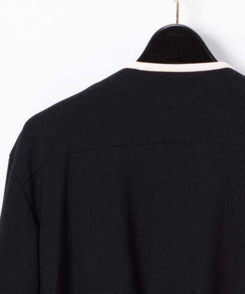 GRACE CONTINENTAL / グレースコンチネンタル ノーカラージャケット | トリアセトリミングジャケット | 詳細19