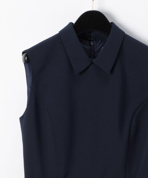 GRACE CONTINENTAL / グレースコンチネンタル ドレス | 配色ドットチュールドレス | 詳細3