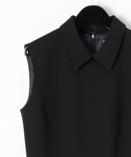 GRACE CONTINENTAL / グレースコンチネンタル ドレス | 配色ドットチュールドレス | 詳細13