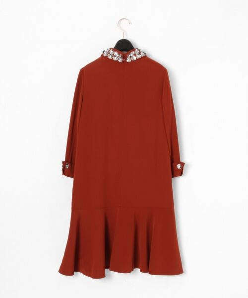 GRACE CONTINENTAL / グレースコンチネンタル ドレス | ビジューカラーワンピース | 詳細8