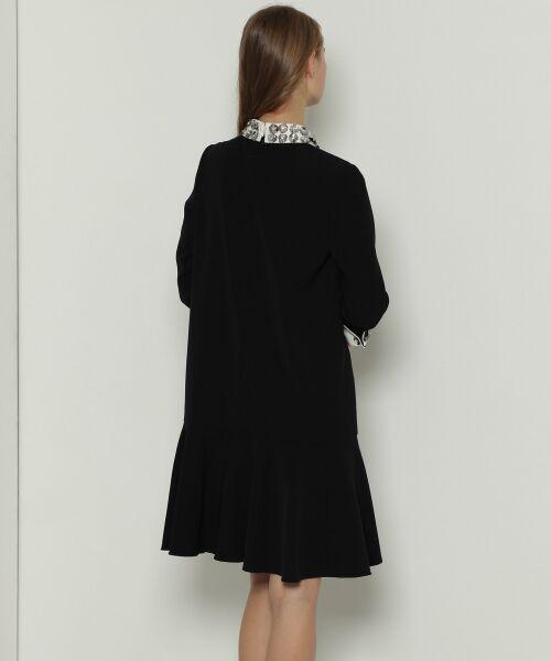 GRACE CONTINENTAL / グレースコンチネンタル ドレス | ビジューカラーワンピース | 詳細13