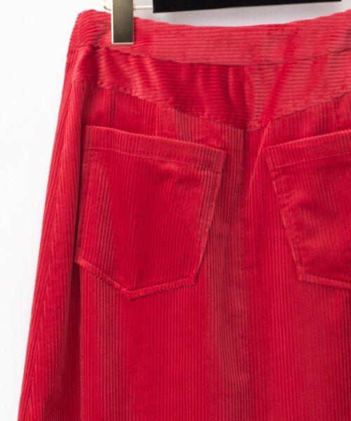 GRACE CONTINENTAL / グレースコンチネンタル ミニ・ひざ丈スカート | コーデュロイラップスカート | 詳細10
