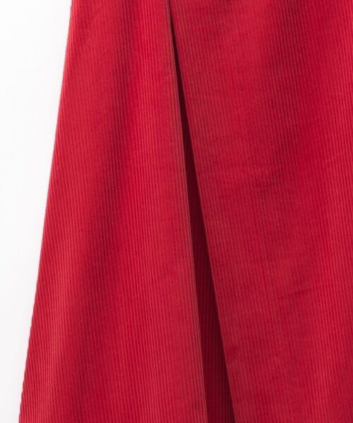 GRACE CONTINENTAL / グレースコンチネンタル ミニ・ひざ丈スカート | コーデュロイラップスカート | 詳細6