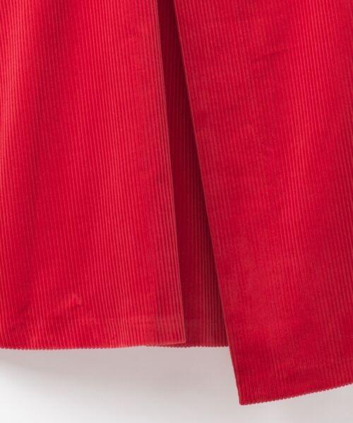 GRACE CONTINENTAL / グレースコンチネンタル ミニ・ひざ丈スカート | コーデュロイラップスカート | 詳細7