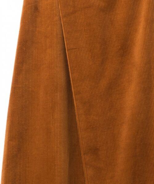 GRACE CONTINENTAL / グレースコンチネンタル ミニ・ひざ丈スカート | コーデュロイラップスカート | 詳細12