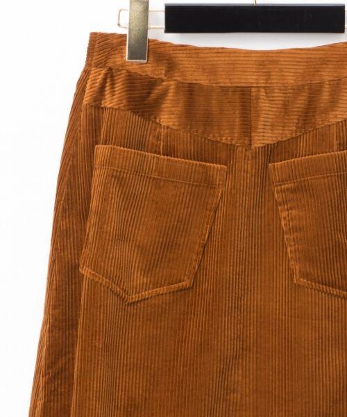 GRACE CONTINENTAL / グレースコンチネンタル ミニ・ひざ丈スカート | コーデュロイラップスカート | 詳細16