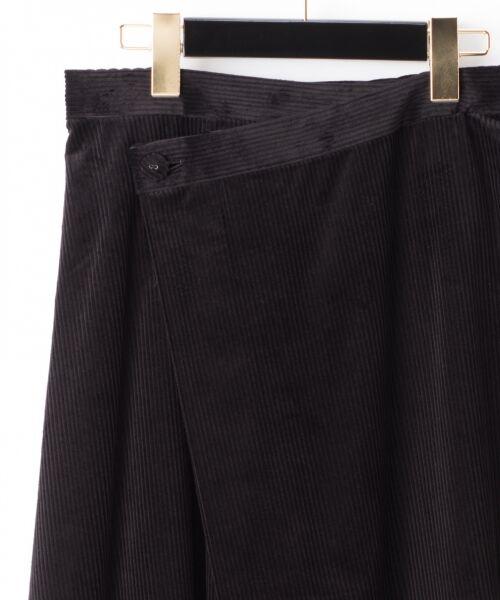GRACE CONTINENTAL / グレースコンチネンタル ミニ・ひざ丈スカート | コーデュロイラップスカート | 詳細17