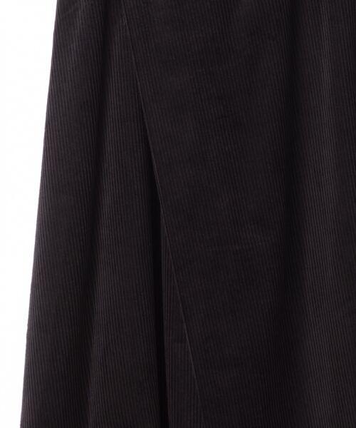 GRACE CONTINENTAL / グレースコンチネンタル ミニ・ひざ丈スカート | コーデュロイラップスカート | 詳細18