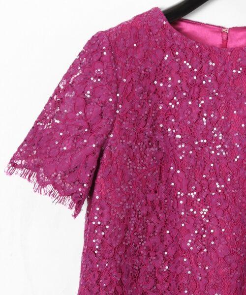 GRACE CONTINENTAL / グレースコンチネンタル ドレス | スパン刺繍レースミニワンピース | 詳細1