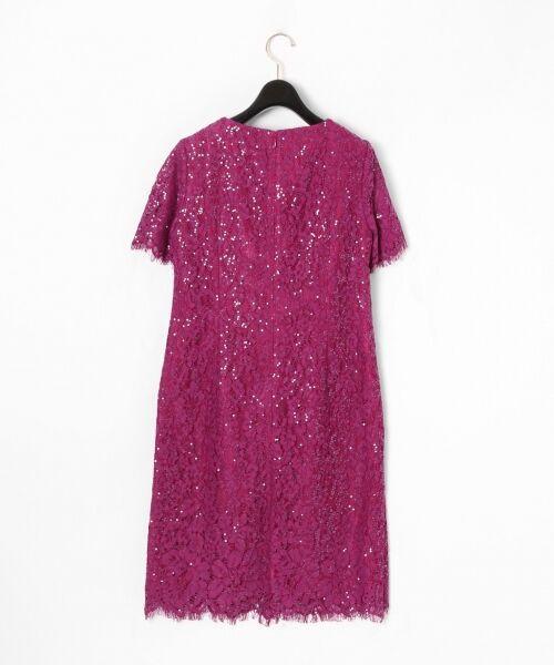 GRACE CONTINENTAL / グレースコンチネンタル ドレス | スパン刺繍レースミニワンピース | 詳細4