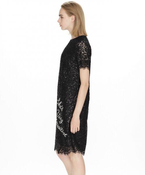 GRACE CONTINENTAL / グレースコンチネンタル ドレス | スパン刺繍レースミニワンピース | 詳細7
