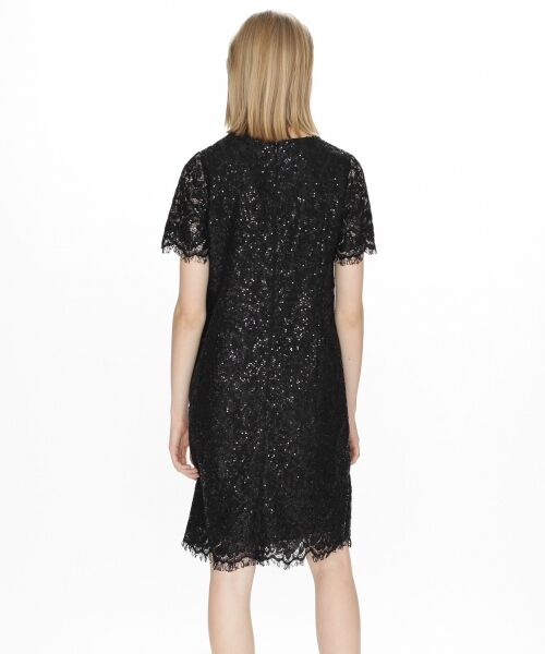 GRACE CONTINENTAL / グレースコンチネンタル ドレス | スパン刺繍レースミニワンピース | 詳細8